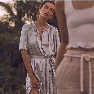 Sabina Musayev mercury shirt dress
